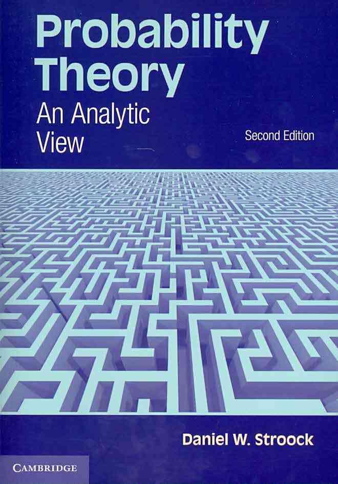 Probability Theory By Stroock, Daniel W.